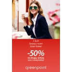 Greenpoint: 50% zniżki na drugą sztukę