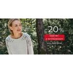 Greenpoint: 20% rabatu na swetry z wyprzedaży