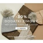 Greenpoint: 30% rabatu na dodatki zimowe przy zakupie kurtki lub płaszcza