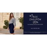 Greenpoint: Noc Zakupów 20% rabatu na odzież damską z kolekcji wiosna-lato 2018