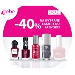 Hebe: 40% zniżki na wybrane lakiery do paznokci