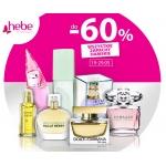 Hebe: 60% zniżki na wszystkie zapachy damskie