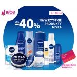 Hebe: 40% zniżki na produkty Nivea