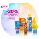 Hebe: 30% zniżki na wszystkie produkty do opalania