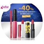 Hebe: 40% zniżki na produkty do makijażu ust