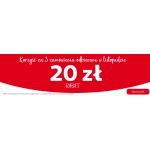 Hipermarket Auchan: 20 zł zniżki rabatu za trzy zamówienia odebrane w listopadzie