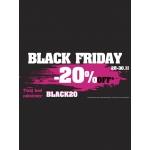 Black Friday w Intershoe: 20% rabatu przez cały weekend