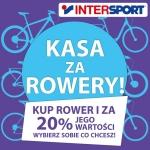 Intersport: kasa za rowery