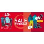 Intersport: wyprzedaż do 40% rabatu na odzież, obuwie i akcesoria sportowe
