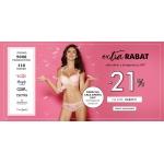 Intymna: 21% zniżki na całą oferty bielizny damskiej