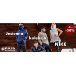 Kajasport: do 50% zniżki na jesienną kolekcję Nike