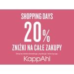 KappAhl: Shopping Days z 20% zniżką na wszystko