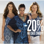 KappAhl: 20% zniżki na całe zakupy