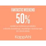 KappAhl: 50% zniżki na wybrane produkty