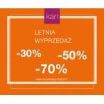 Kari: wyprzedaż do 70% zniżki