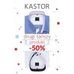 Kastor: 50% zniżki na drugi produkt