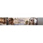 Kodano: 50% rabatu na damskie i męskie okulary przeciwsłoneczne
