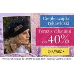 Kontri: do 40% zniżki na czapki i rękawiczki