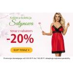 Kontri: 20% zniżki na elegancką i kobiecą kolekcję satynową