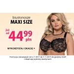 Kontri: wybrane biustonosze Maxi Size od 44,99 zł