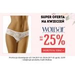 Kontri: do 25% rabatu na bieliznę marki Wolbar