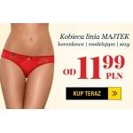 Kontri: Walentynkowa promocja - kobieca linia majtek, koronkowe, modelujące, sexy od 11,99 zł
