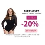 Kontri: 20% rabatu na wybrane kobiece body