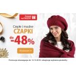 Kontri: do 48% zniżki na ciepłe i modne czapki