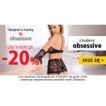 Kontri: 20% zniżki na całą kolekcję bielizny damskiej marki Obsessive