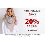 Kontri: 20% zniżki na chusty i szaliki