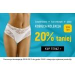 Kontri: 20% zniżki na damską kolekcję majtek