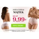 Kontri: kobieca kolekcja majtek od 9,99 zł