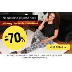 Kontri: do 70% rabatu na piżamy, koszule, szlafroki
