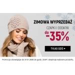 Kontri: zimowa wyprzedaż do 35% rabatu na czapki i dodatki damskie