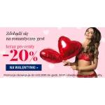 Kontri: 20% rabatu na bieliznę damską i męską na Walentynki
