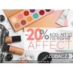 Kosmetyki z Ameryki: 20% zniżki na kosmetyki do makijażu marki Affect