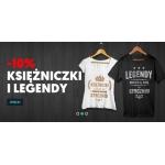 Koszulkowo: 10% rabatu na koszulki dla księżniczek i legend