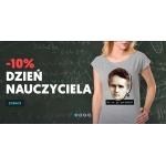 Koszulkowo: 10% zniżki na koszulki z okazji dnia nauczyciela