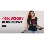 Koszulkowo: 10% rabatu na koszulki z wzorami rowerowymi