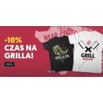 Koszulkowo: 10% rabatu na koszulki z motywem na grilla