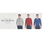 Kubenz: wszystkie swetry męskie za 119,99 zł