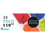 Kubenz: 3 sztuki polo w cenie 119,99 zł