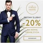 Kubenz: 20% zniżki na garnitury ślubne