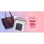 LaModa.pl: torebki Monnari 30% taniej