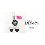 Labizu: wyprzedaż do 50% zniżki na biżuterię marki OPS Objects