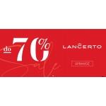 Lancerto: wyprzedaż do 70% zniżki na odzież męską m.in. garnitury, marynarki, koszule