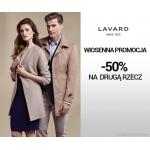 Lavard: 50% zniżki na drugą rzecz