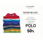 Lavard: koszulka polo 50% taniej przy zakupie marynarki lub spodni