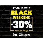 Black Weekend w Lee Wrangler: 30% zniżki na cały asortyment