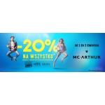 MC Arthur: 20% zniżki na cały asortyment obuwniczy